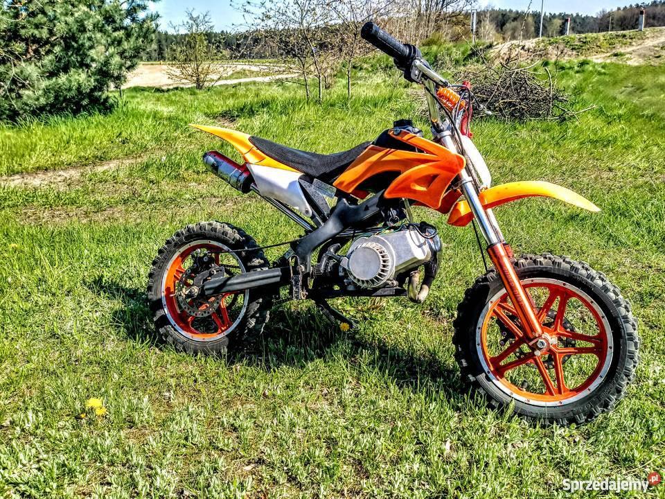 Bardzo dobra Mini cross, pocket bike, motorynka, cross dla dziecka. Orion Tczew GD35