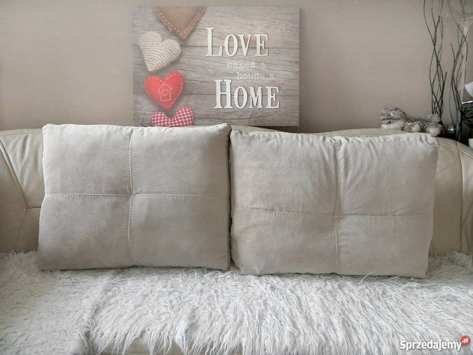 Jasne Duże Poduchy Dekoracyjne Ikea Poduszki Na łóżko Kanapę