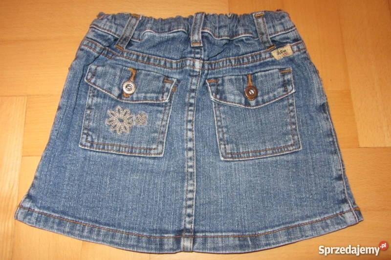 Levisspódnica jeans mini 9298104 z falbanką Rozmiar 98 Łódź