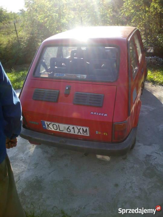 Sprzedam Fiat 126p czerwony Rodaki