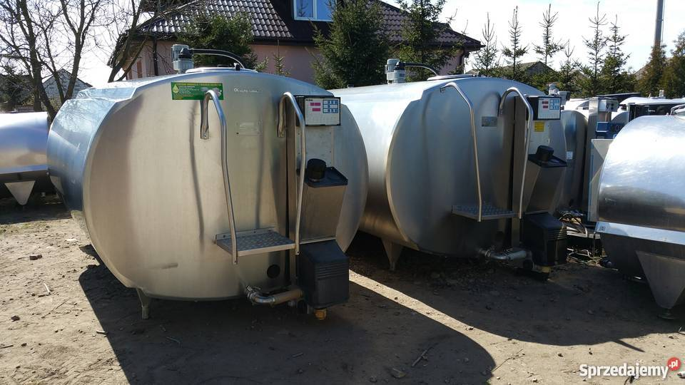 Schładzalnik do mleka 500l do 8000l Poniatowo
