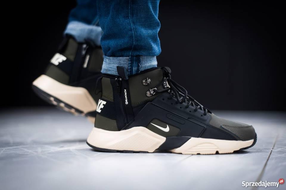 official photos 07028 e2e29 Nike Huarache X Acronym City MID Khaki r41-45