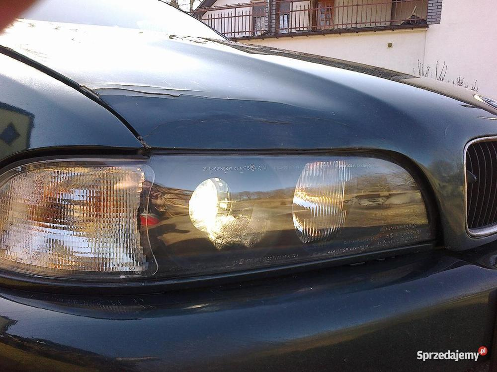 BMW 525 tds e39 diesel 1996 zielony lubuskie Zabór
