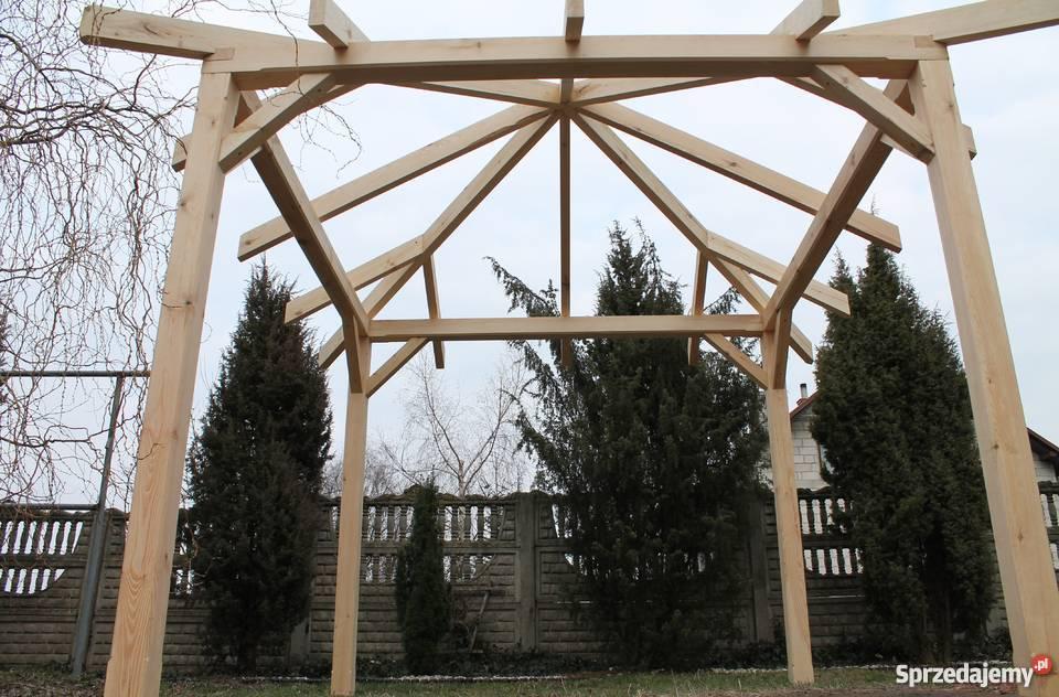 Altana Konstrukcja Altany 32x32m Altanka Pergola Wiata