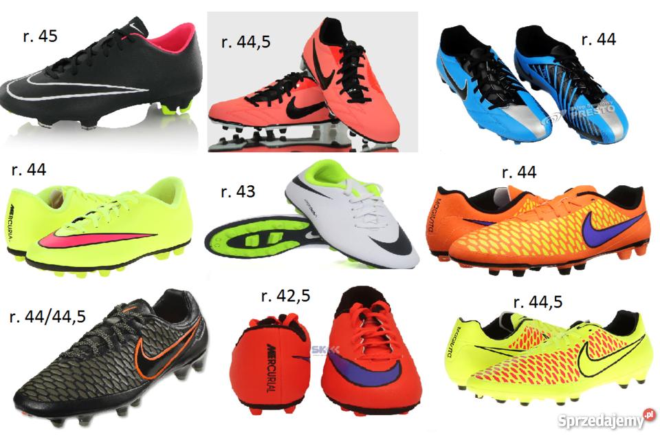 najniższa cena wyprzedaż ze zniżką świeże style Nowe korki Nike - różne rozmiary i modele