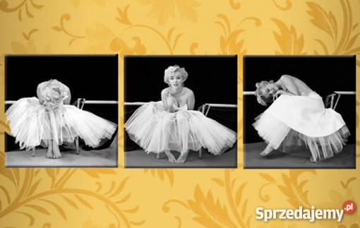 Obraz Marylin Monroe Ballerina 3 Obrazy 30x30 Cm Canvas 100 Wrocław