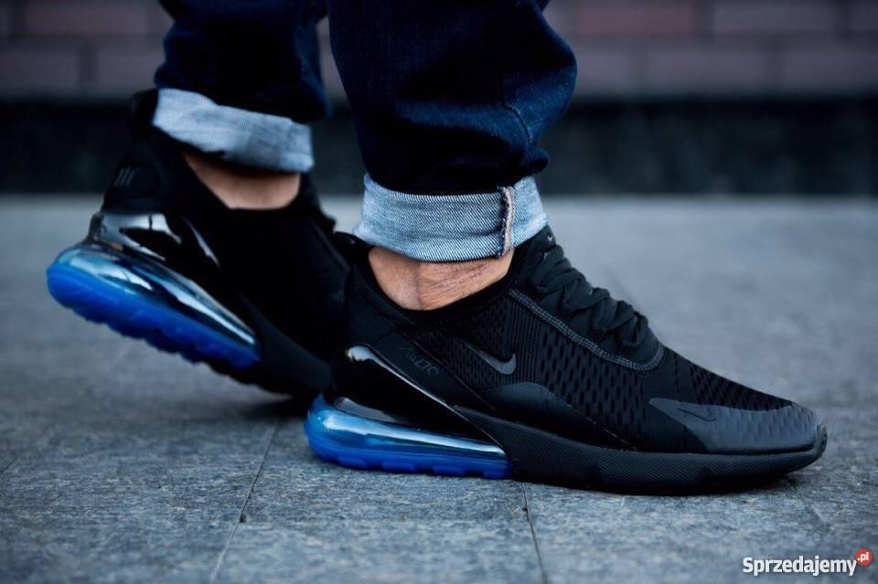 on wholesale buy cheap autumn shoes Nike Air Max 270 Black Blue r41-45