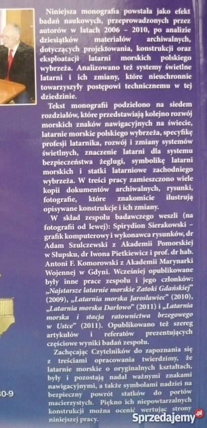 Morskie drogowskazy polskiego wybrzeża Puck sprzedam