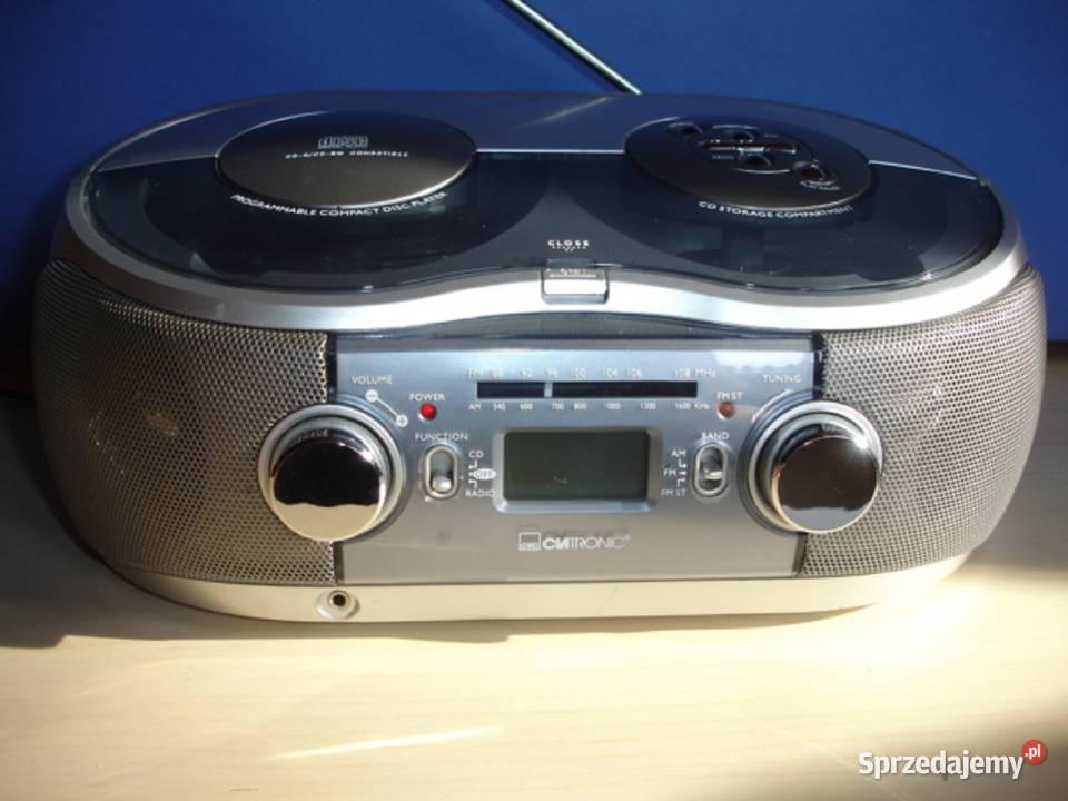 Radiomagnetofon z CD CLATRONIC SR-715