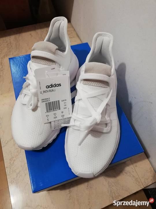 sprzedam nowe białe buty adidas U_Path Run J