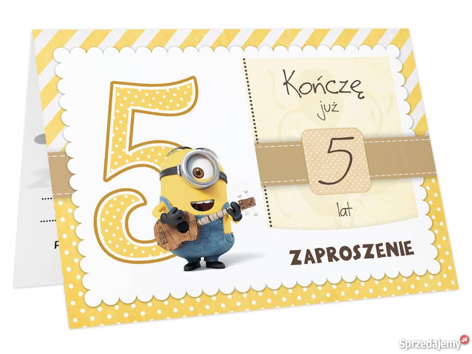 Zaproszenia Na Urodziny Dla Dziecka 2 3 4 5 6 7 Lat Zm Toruń