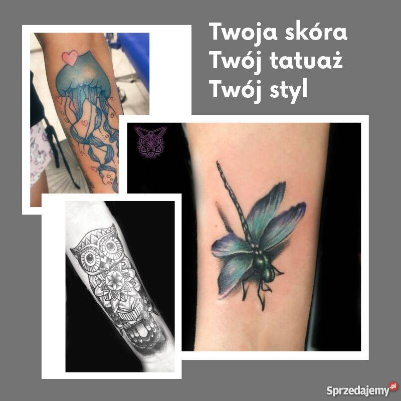 Tatuaż Tatuowanie Profesjonalnie Bezpiecznie W Dobrej Ce