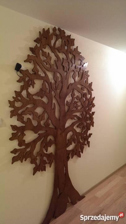 Bardzo Duze Drzewo Ozdoba Na Sciane Wycinanka Dekor Zawiercie