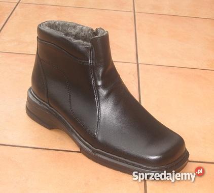 męskie buty rozponane z boku na zamek
