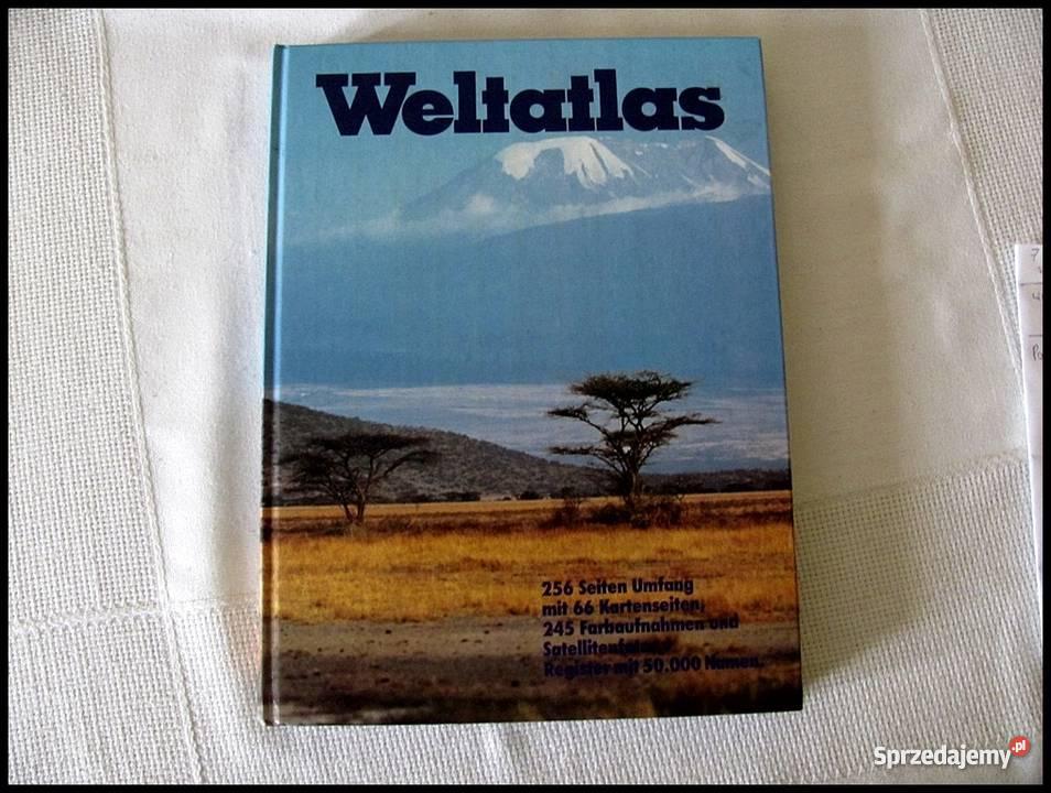 Weltatlas wydanie atlasu niemiecku