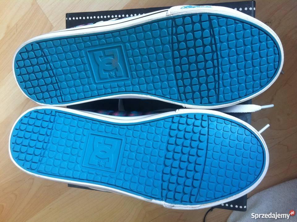 DC damskie buty trampki rozmiar 37 nowe oryginalne jak Vans