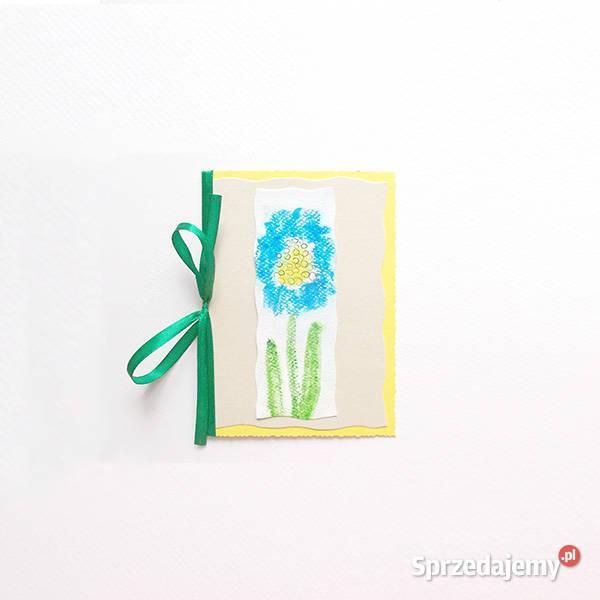 kartki malowane, kartki z kwiatami, ładne kartki bez życzeń