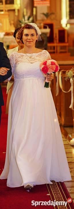 Suknia ślubna Szyta U Krawcowej Buty Gratis łódź Sprzedajemypl