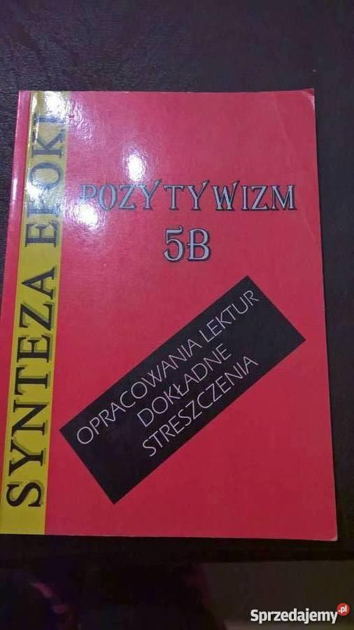 Pozytywizm Synteza epoki Wrocław