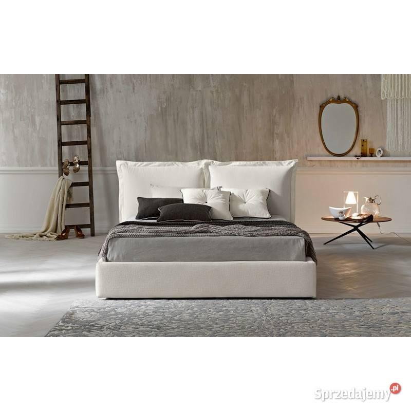 *Super oferta!łóżko z poduchami SCANDI 3 140x200 z materacem
