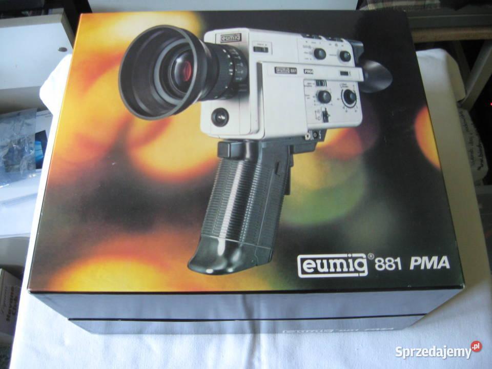 Zabytkowa kamera eumig 881 PMA, vintage RAR, NOWA!!!