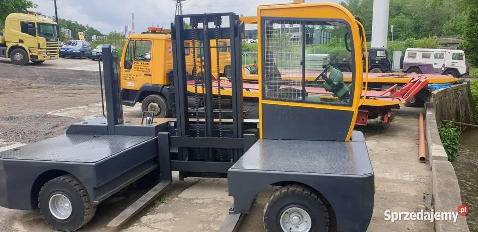 wózek widłowy boczny Lancer Diesel platforma 1400 mm
