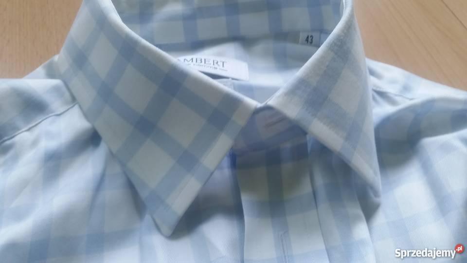 43, 176 182, L XL, lambert, wólczanka, koszula męska z kołni  JX5kj