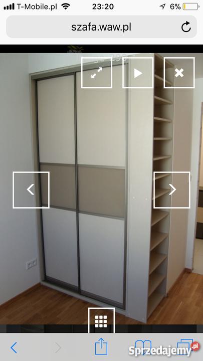 Poważne tanie szafy na wymiar - Sprzedajemy.pl WV55