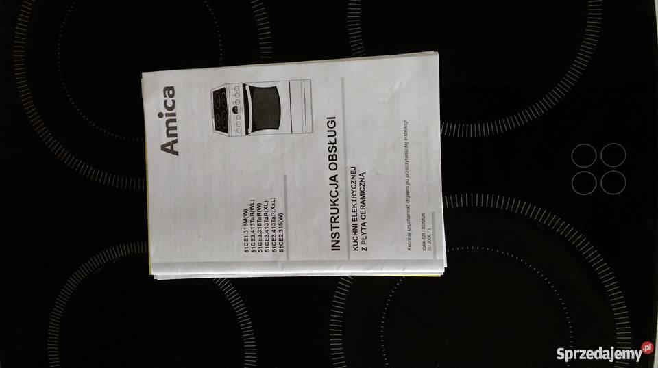 Nietypowy Okaz Amica Kuchenka Elektryczna Instrukcja Me56