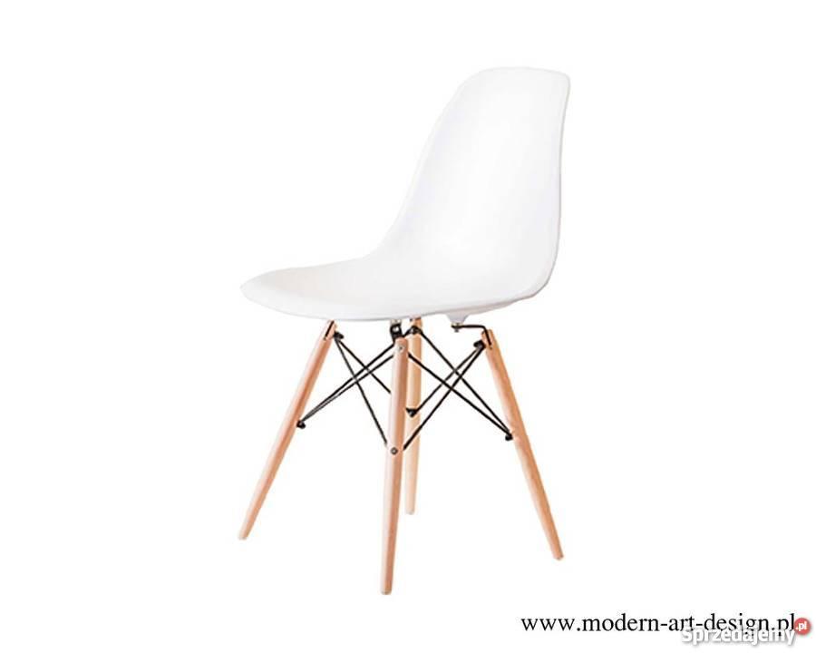 Ogromny Krzesło DSW Eames drewniane nogi - darmowa dostawa Warszawa JW92