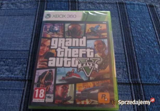 Gta V Xbox 360 Orginał Kłodzko
