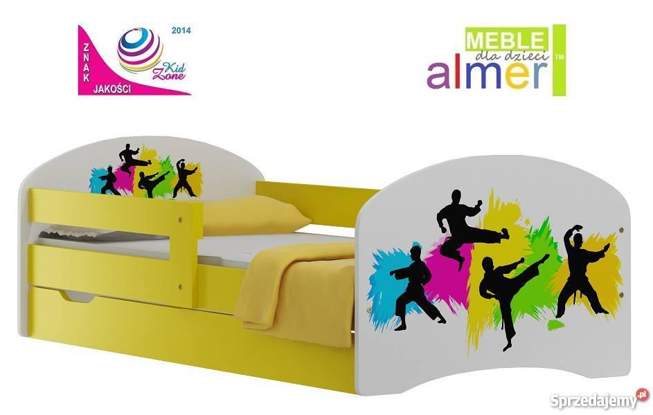 Sztuki Walki 52 łóżko Szuflada 18090 Dla Dzieci