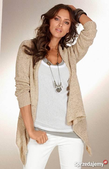 6f10bfe21eaa6 Nowy damski sweter kardigan rozpinany Laura śląskie Częstochowa