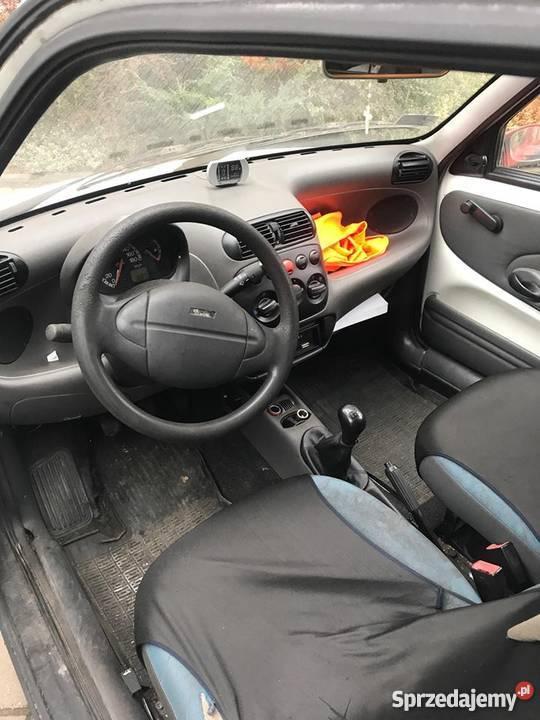 Fiat Seicento Vat Vat1 FV 23 Uszkodzony Koszty Rok produkcji 2001 śląskie