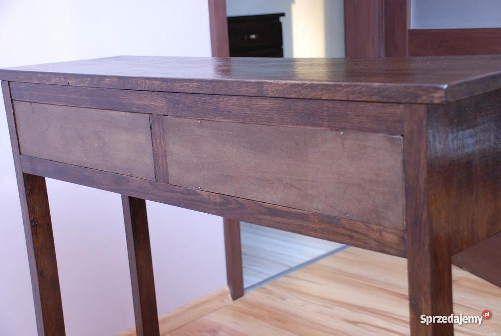 stolik konsola toaletka stoliczek drewniane Debo zachodniopomorskie Bielice