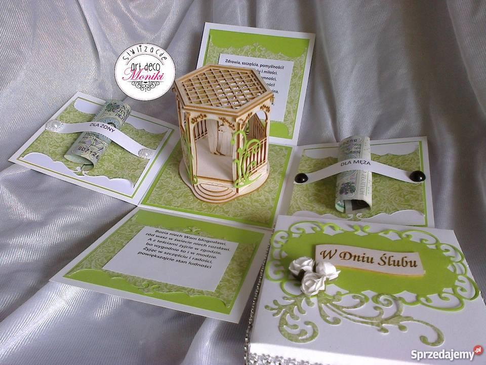 Bardzo dobra Pudełko prezent na ślub pamiątka ślubna Wielbark - Sprzedajemy.pl PV03
