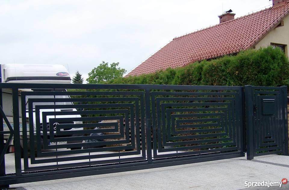 Ogrodzenia brama barierka brama przesuwna małopolskie Gorlice