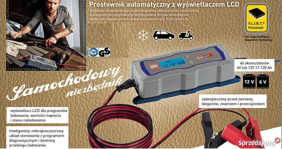 Prostownik automatyczny do wszystkich akumulatorów 6-12V