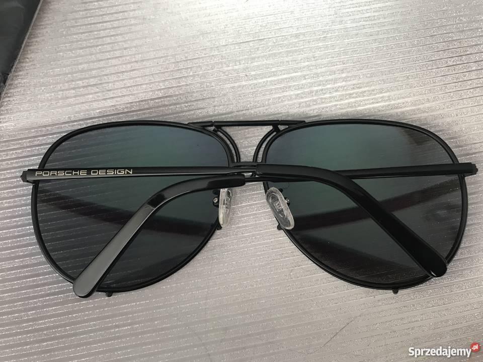 1e9f7588763a Okulary Przeciwsłoneczne Męskie Porsche Designwymienne Szkł