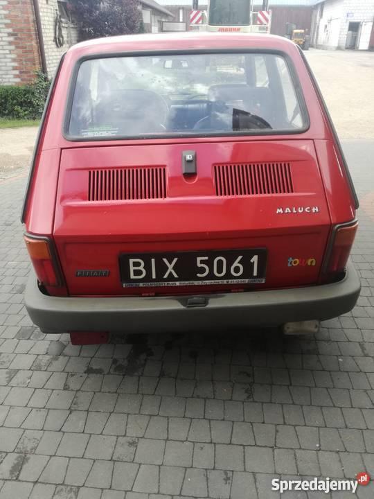 Fiat 126p Maluch 1999 r manualna 126 Szepietowo