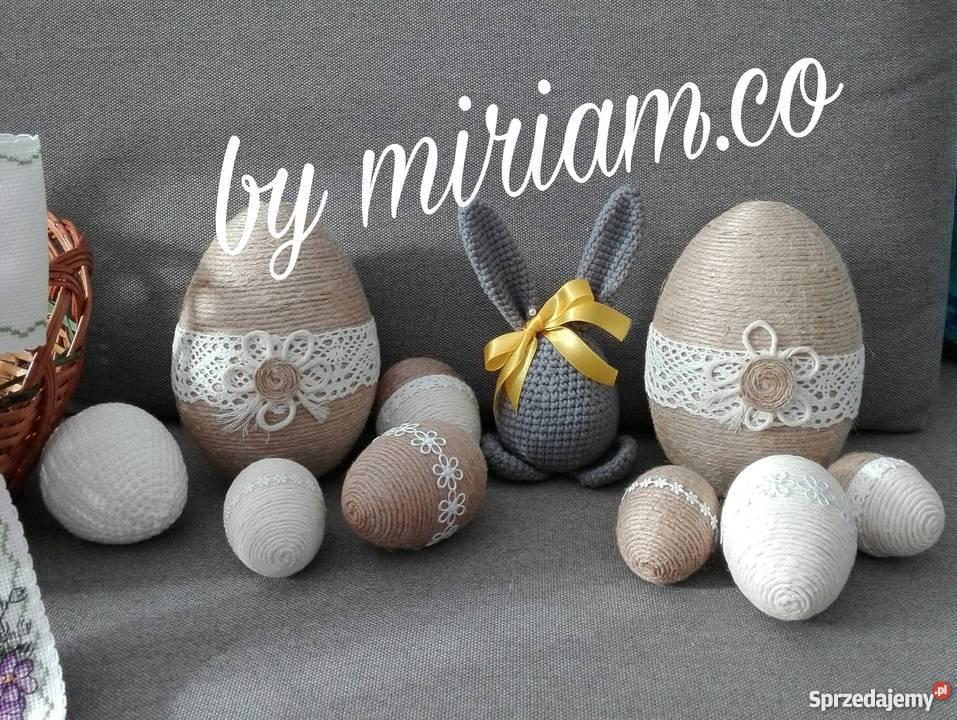 Wielkanoc ozdoby szydelko Czerwionka-Leszczyny