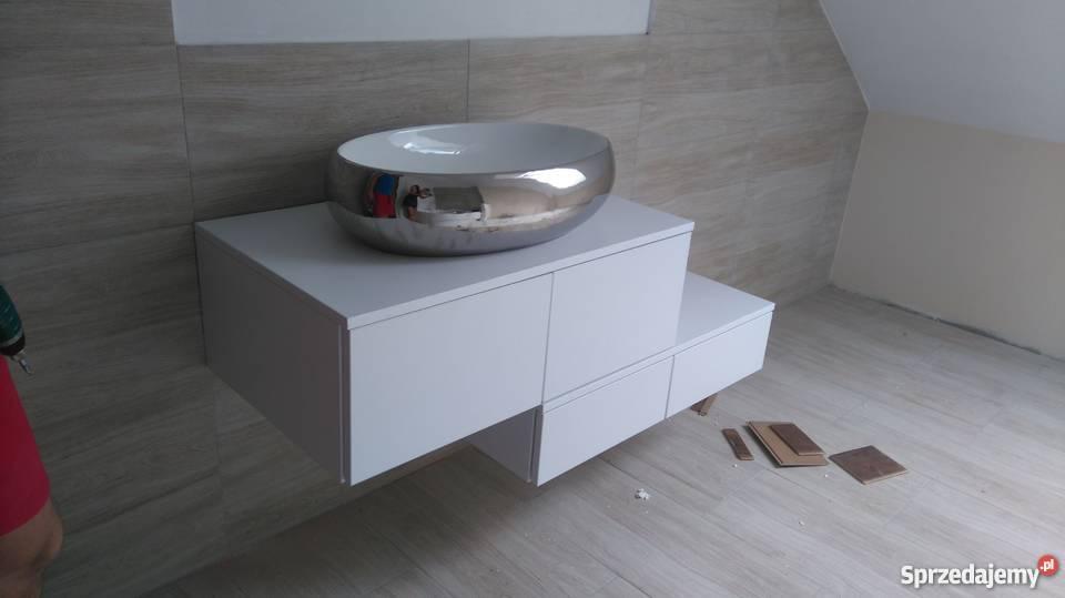 Groovy szafka pod umywalkę Podium 2S 150cm - LAKIER POŁYSK Gorzów VI29