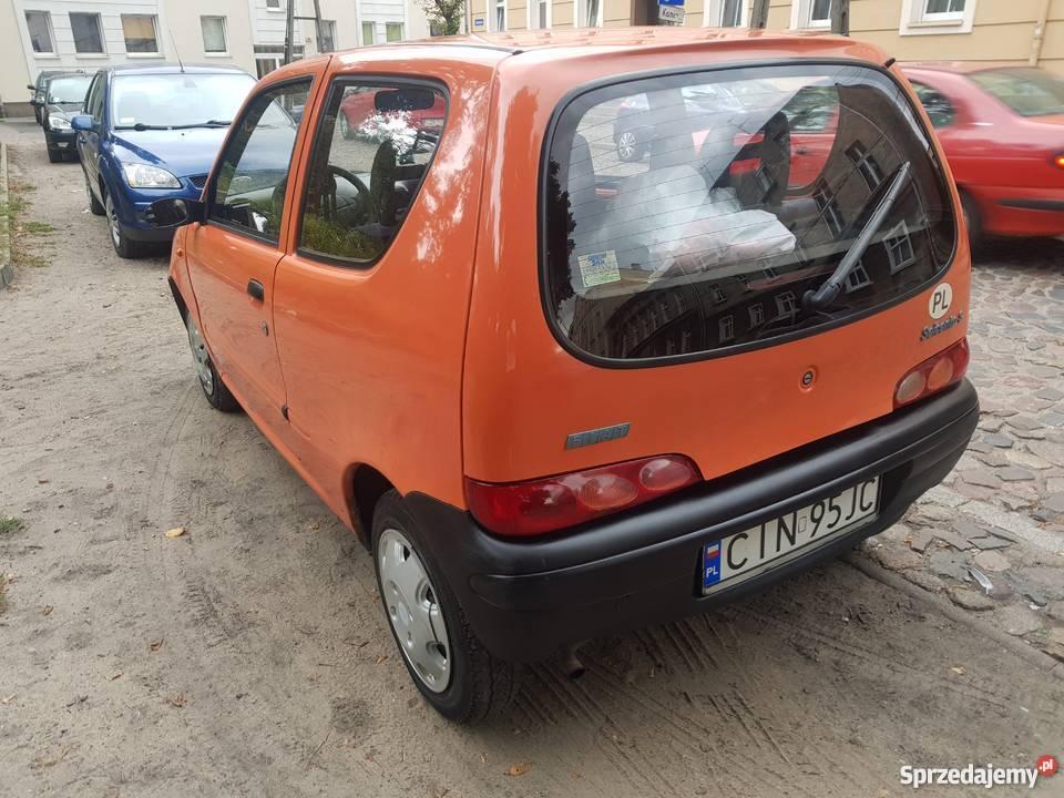 Fiat seicento zamiannaaa benzyna Seicento Bydgoszcz sprzedam