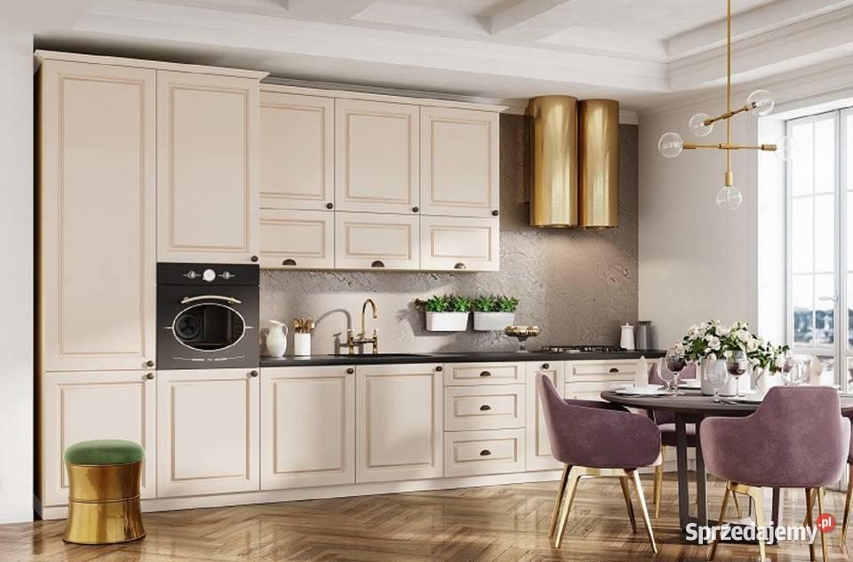 Zestaw mebli ALINA 4,4 m klasyczne meble kuchenne zabudowa