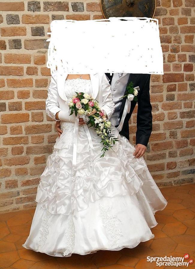 a9ce0ae287 Śiczna suknia ślubna - Sprzedajemy.pl