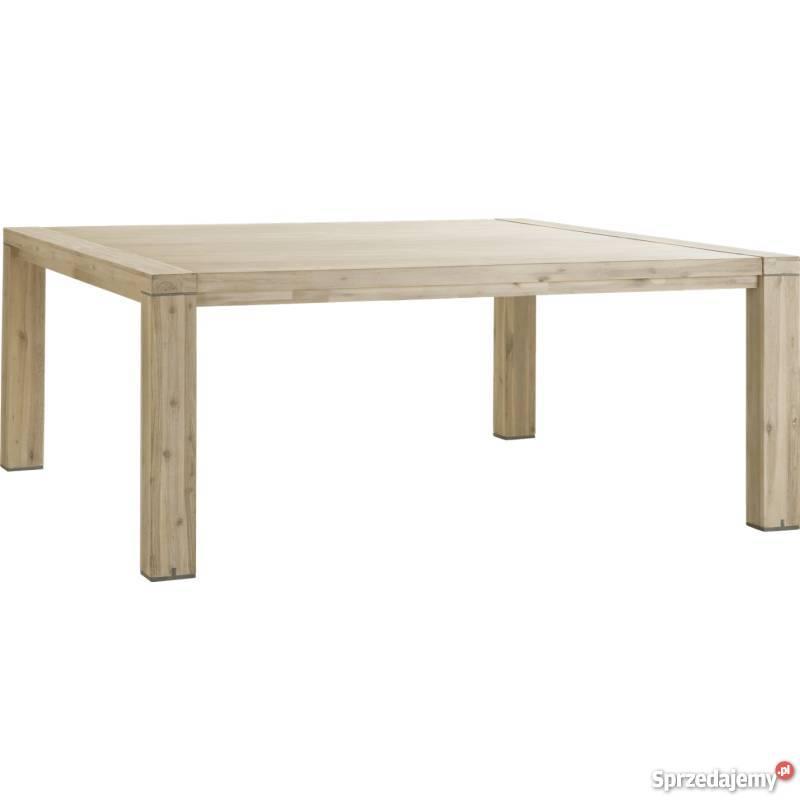 Drewniany stół biesiadny Buckley rozkładany