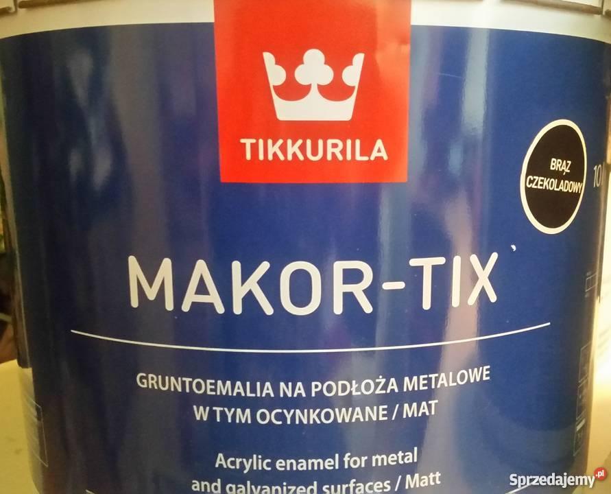 MakorTix 10L Czerwony tlenkowy Warszawa sprzedam
