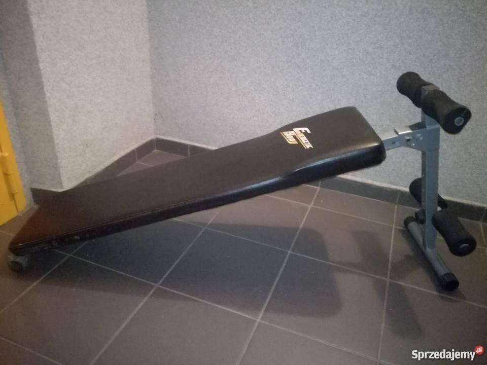 Sprzedam ławeczke do brzuszków Sprzęt do ćwiczeń Siłownia i fitness pomorskie Wejherowo