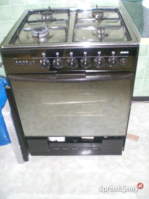 Kuchenka Gazowa Bosch Z Piekarnikiem Elektrycznym
