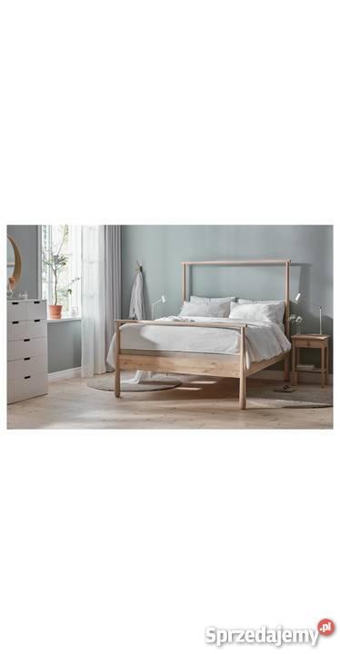 Ikea Rama łóżka Gjora 140x200 Brzoza Skandynawskie łóżko